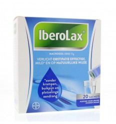 Bayer Iberolax 10 gram 20 stuks | Superfoodstore.nl
