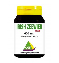 SNP Irish zeewier 600 mg puur 60 capsules | Superfoodstore.nl