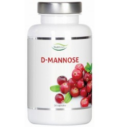 Nutrivian D-Mannose 500 mg 50 capsules | € 17.76 | Superfoodstore.nl