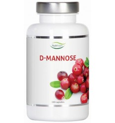 Nutrivian D-Mannose 500 mg 100 capsules | Superfoodstore.nl