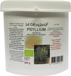Cruydhof Psyllium / vlozaad bio 200 gram | Superfoodstore.nl
