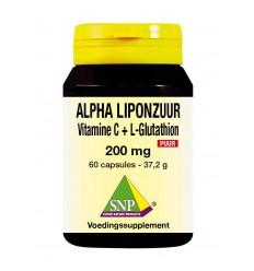 Antioxidanten SNP Alpha liponzuur 200 mg puur 60 capsules kopen