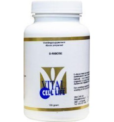 Vital Cell Life D Ribose 100 gram | € 24.18 | Superfoodstore.nl