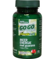 Rio Amazon Gogo guarana 100 tabletten | € 12.17 | Superfoodstore.nl