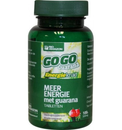 Rio Amazon Gogo guarana 100 tabletten | € 12.17 | Superfoodstore.nl