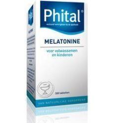 Phital Melatonine 0.1 mg 500 tabletten | Superfoodstore.nl