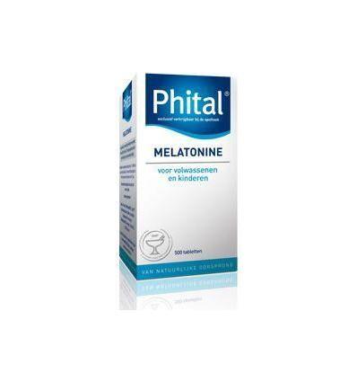 Nachtrust Phital Melatonine 0.1 mg 500 tabletten kopen