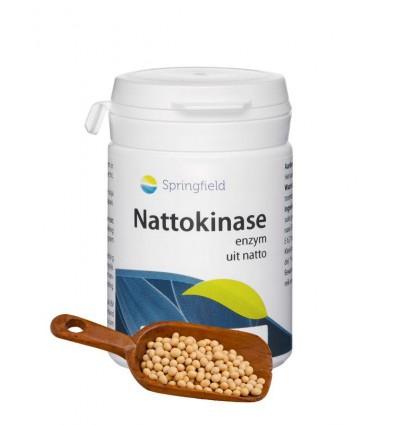 Springfield Nattokinase 90 softgels | Superfoodstore.nl