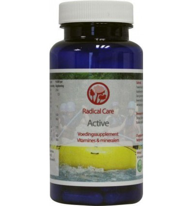 B. Nagel Radical care active 60 vcaps | € 27.66 | Superfoodstore.nl