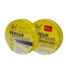 Bach Rescue pastilles zwarte bes 50 gram | Superfoodstore.nl