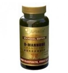 Artelle D-Mannose cranberry beredruif 75 tabletten |