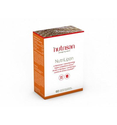 Nutrisan Nutrilipon 60 capsules | Superfoodstore.nl