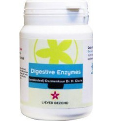 Liever Gezond Digest enzyme 50 capsules | Superfoodstore.nl