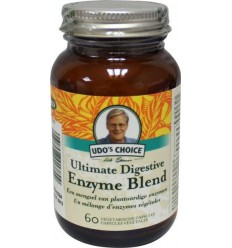 Udo's Choice Digestive enzyme 60 vcaps | € 33.25 | Superfoodstore.nl
