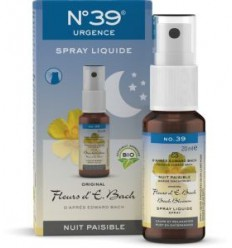 Lemon Pharma Bach bloesems spray nacht nr 39 20 ml | € 13.01 | Superfoodstore.nl