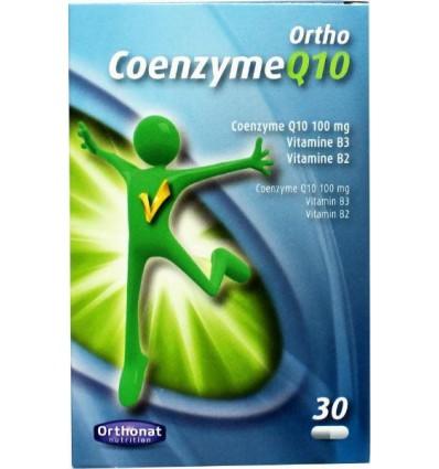 Orthonat Ortho coenzyme Q10 30 capsules | Superfoodstore.nl