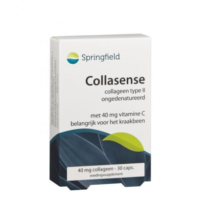 Springfield Collasense 30 vcaps | € 13.69 | Superfoodstore.nl