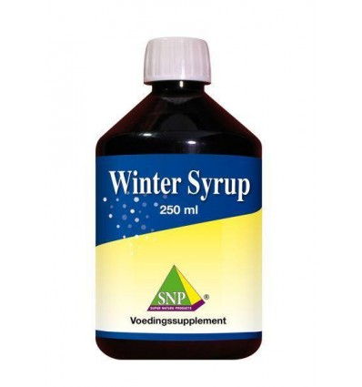 SNP Winter syrup 250 ml | € 13.69 | Superfoodstore.nl