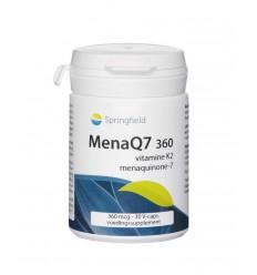 Vitamine K Springfield MenaQ7-360 vitamine K2 360 mcg 30 vcaps
