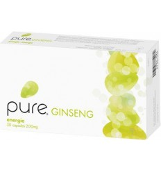 Pure Ginseng 200 mg 24% 30 capsules | Superfoodstore.nl