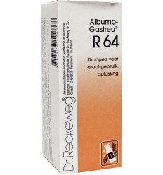 Dr Reckeweg Albumo gastreu R64 50 ml | € 15.05 | Superfoodstore.nl