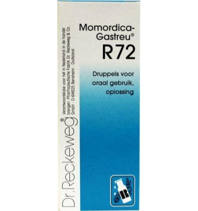Dr Reckeweg Momordica gastreu R72 50 ml | € 15.05 | Superfoodstore.nl