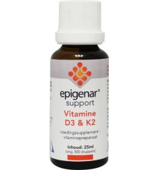Epigenar Vitamine D3 & K2 25 ml | € 25.79 | Superfoodstore.nl