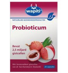 Wapiti Probioticum 20 capsules | Superfoodstore.nl