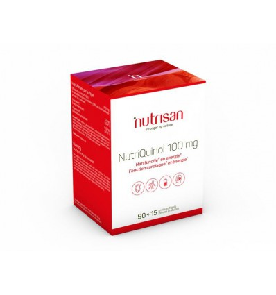 Vitamine B Nutrisan Nutriquinol 100 mg 105 softgels kopen