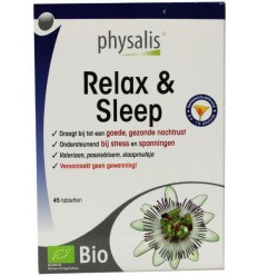 Physalis Relax & sleep 45 tabletten | Superfoodstore.nl