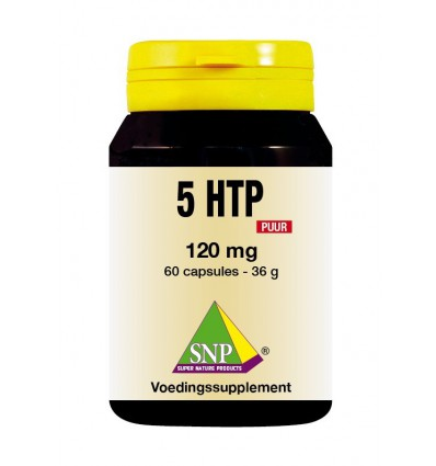SNP 5 HTP 120 mg puur 60 capsules | € 34.09 | Superfoodstore.nl