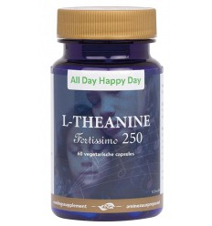 Alldayhappyday L-theanine 250 mg 60 vcaps | € 23.23 | Superfoodstore.nl