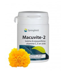 Vitamine A Springfield Macuvite 2 30 tabletten kopen