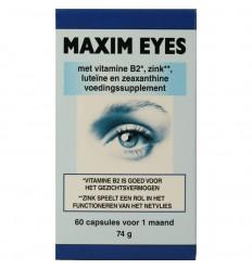 Horus Maxim eyes 60 vcaps   Superfoodstore.nl