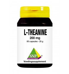 SNP L-Theanine 200 mg 60 capsules | € 18.99 | Superfoodstore.nl