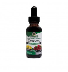 Natures Answer Cranberry extract alcoholvrij 1:1 1500 mg 30 ml | € 14.92 | Superfoodstore.nl