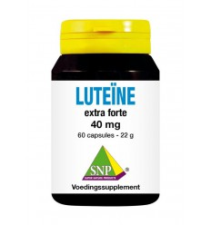 Vitamine A SNP Luteine extra forte 40 mg 60 capsules kopen