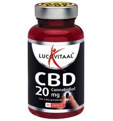Lucovitaal Cannabid CBD 20 mg 90 capsules | € 74.39 | Superfoodstore.nl