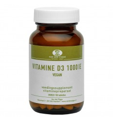 Van der Pigge Vitamine D 1000IE vegan 100 tabletten |