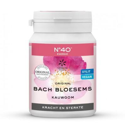 Kauwgom Lemonpharma Bach Bloesem nr 40 kracht & sterkte 60 gram kopen