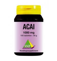 Acai bessen SNP Acai 1000 mg 100 tabletten kopen