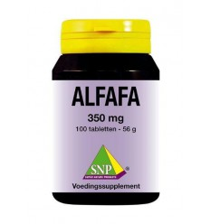 SNP Alfalfa 350 mg 100 tabletten | € 14.79 | Superfoodstore.nl