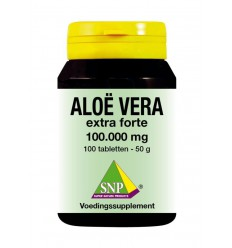 SNP Aloe vera 500 mg 100 tabletten | € 25.26 | Superfoodstore.nl