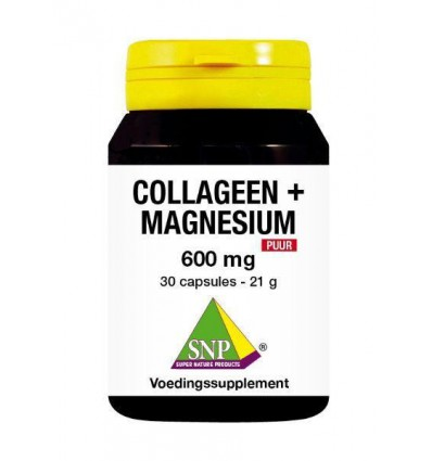 SNP Collageen magnesium 600 mg puur 30 capsules |