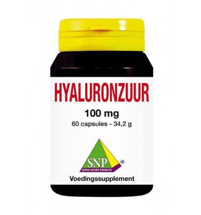 SNP Hyaluronzuur 100 mg 60 capsules | € 34.10 | Superfoodstore.nl