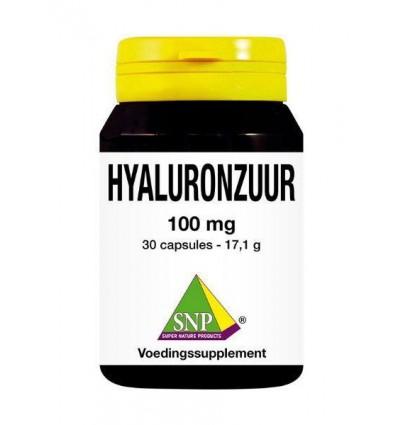 Voedingssupplementen SNP Hyaluronzuur 100 mg 30 capsules kopen