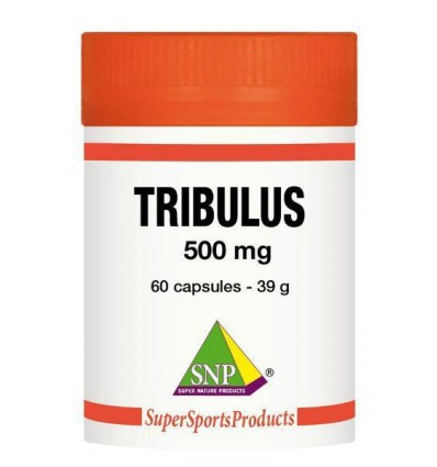 SNP Tribulus terrestris 500 mg 60 capsules | € 28.89 | Superfoodstore.nl