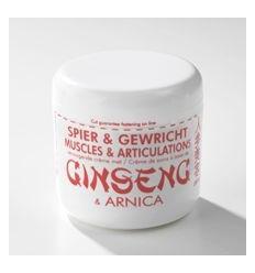 Elvitaal Ginseng en arnica creme 250 ml | Superfoodstore.nl