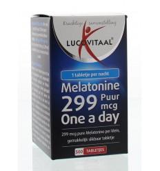 Lucovitaal Melatonine puur 0.299 mg 500 tabletten |