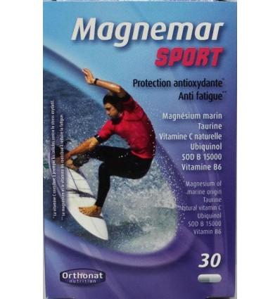 Orthonat Magnemar sport 30 capsules | Superfoodstore.nl